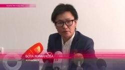 В Казахстане избита журналистка Бота Жуманова
