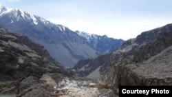 Дорога в джамоат Савноб