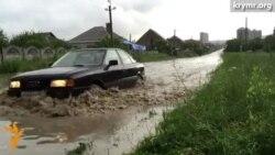Потоп в Симферополе (видео)