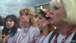 Ծառուկյանը եւ ուկրաինացիները Սպիտակում