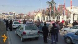 Автошколите повторно на протест пред Владата