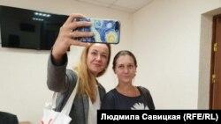 Светлана Кузеванова и Светлана Прокопьева