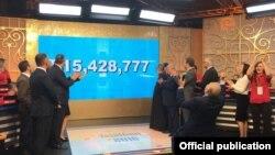 Armenia/US - Hayastan All Armenian Fund's annual Telethon, Yerevan-Los Angeles,24-25Nov,2016