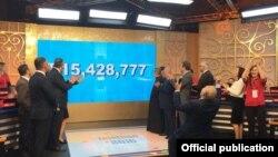 United States - An annual telethon held by Hayastan All-Armenian Fund, 24-25Nov2016