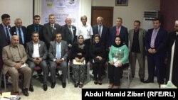 اربيل مشاركون في تجمع شبكة حقوق الانسان في الشرق الاوسط