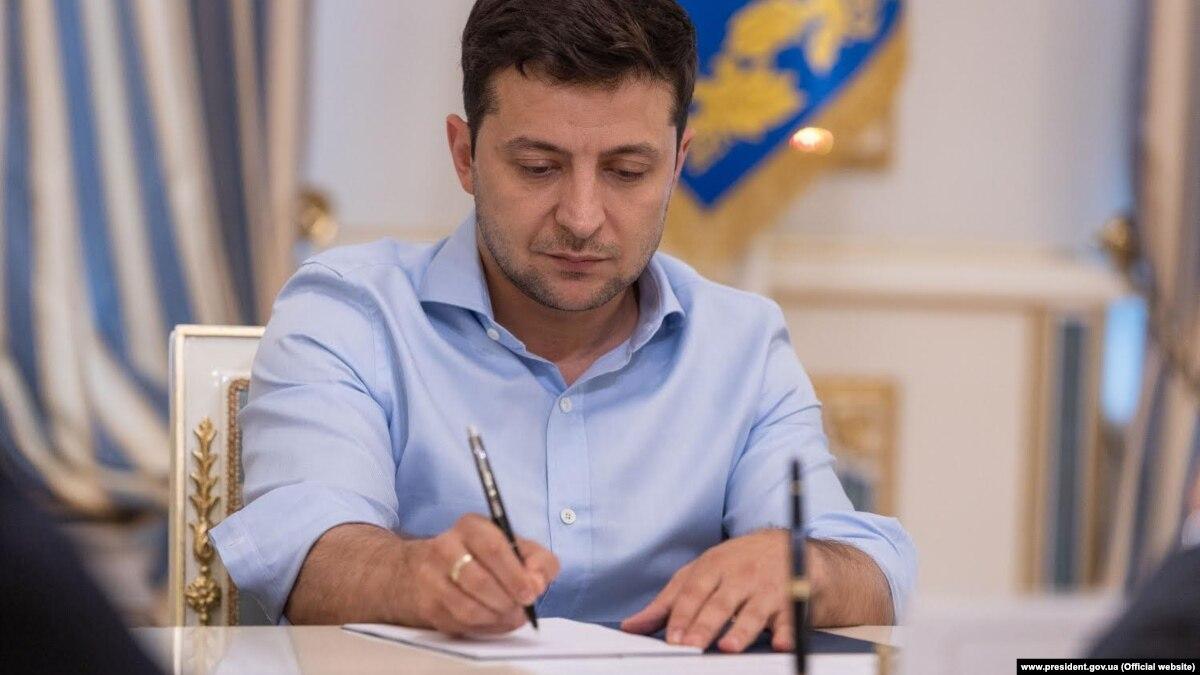 Зеленский подписал указ о призыве в армию с 18 лет