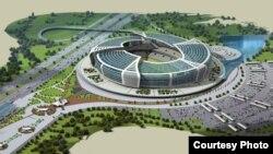 Böyük şor deyilən ərazidə 65 min nəfərlik stadion tikiləcək