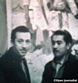 Ўзбекистон халқ рассоми Неъмат Қўзибоев , 1974 yil.