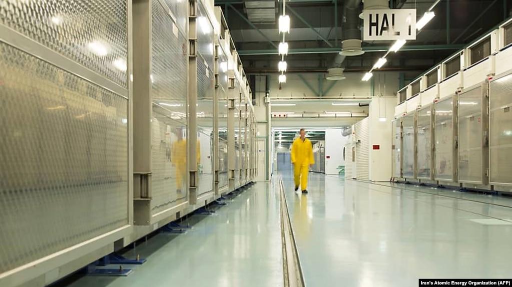 نمایی از تاسیسات هستهای در فردو (عکس از آرشیو)