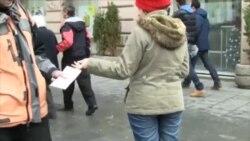 Sarayevoda anti-korrupsiya materialları paylanıb