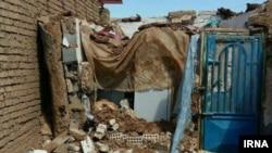 После землетрясения в Иране (под Махшадом, 5 апреля 2017 года).