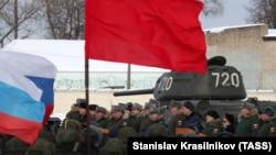 Приёмка танков Т-34 в Наро-Фоминске