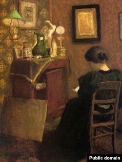 Анры Матыс, «Жанчына чытае» (1894)