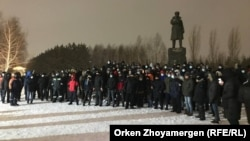گردهماییهای اعتراضآمیز در قزاقستان.