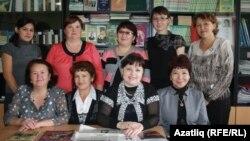Төмән районының татар теле укытучылары семинар вакытында