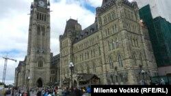 Здание парламента Канады в Оттаве.