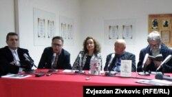 S lijeva na desno: Vukadinović, Bašović, Murtić, Vukolić i Simić
