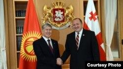 Атамбаев и Маргвелашвили