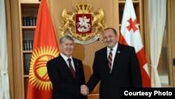 Атамбаев м Маргвелашвили