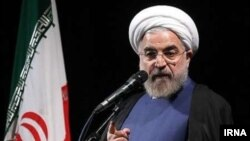 "In an open letter to Iranian President Hassan Rohani (pictured), academics suggested that upcoming parliamentary elections in Iran could be ""unfair and non-competitive"""