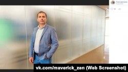 Роман Дмитрієв, директор сайту «КерчьИнфо», скріншот із його сторінки «Вконтакте»