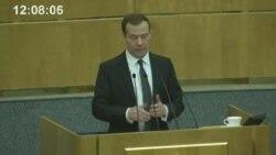 Медведев пообещал, что власть не будет отвлекаться на спекуляции и пустые конфликты