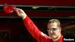 Михаэль Шумахер Формула бир пойгаси бўйича етти марта чемпионликни қўлга киритган.