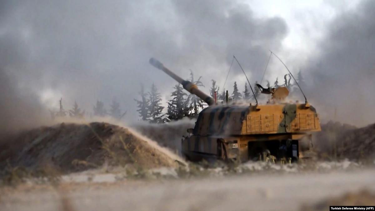 Анкара сообщила о сбитом сирийский учебно-боевой самолет