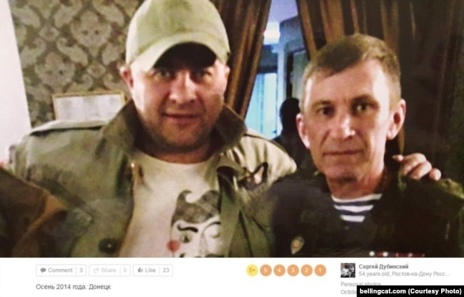 Михаил Пореченков и Сергей Дубинский в Донецке