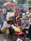 La piața din Șoldănești