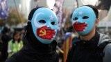 Шинжаңдык уйгурларга колдоо көрсөткөн акция. Гонконг, 22-декабрь, 2019-жыл.