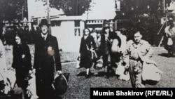Keçmiş Auschwitz-Birkenau ölüm düşərgəsi. Muzey fotosu