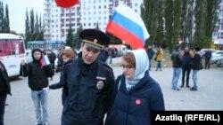Полиция хезмәткәре Лилия Чанышевага кисәтү ясый