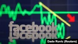 Лого компании Facebook.