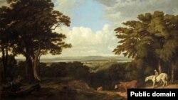 Пейзаж работы Уильяма Тёрнера.