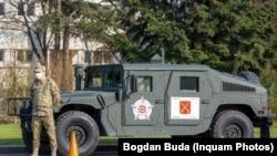 Armata română pe străzi