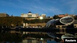 На Площади Европы в Тбилиси состоялся концерт по случаю подписания соглашения об ассоциации с Евросоюзом