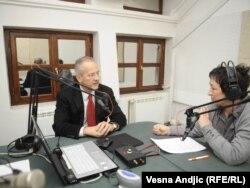 Ivan Vejvoda u razgovoru sa Brankom Mihajlović