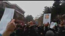 تظاهرات ۲۲ آذر در دانشگاه شهيد بهشتي