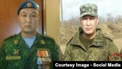 Один і той же військовий – зліва у формі російської армії, справа – в камуфляжі з шевроном так званої «Новоросії»