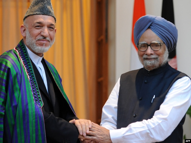 Karzai Says Partnership Deal With India Does Not Threaten Pakistan