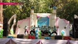 Музыка и пляски в День независимости Узбекистана