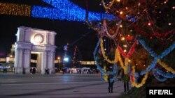 Різдво в Кишиневі, архівне фото