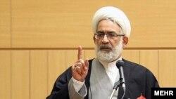 Mohammad Jaafar Montazeri , Iran`s attorney general. Undated