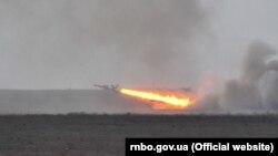 Під час стрільб військові виконували завдання щодо знищення повітряних, надводних і наземних цілей