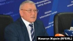 Жақсылық Досқалиев, республикалық трансплантация орталығының басшысы. Ақтөбе, 21 маусым 2017 жыл.