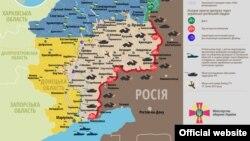 Ситуація в зоні бойових дій на Донбасі, 5 вересня 2015 року