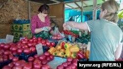 Cheklov faqat Farg'ona viloyatidan keltirilayotgan pomidor va qalampirga kiritilgan