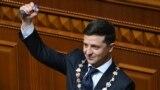 Wolodymyr Zelenskiý Ukrainanyň prezidentligine kasam getirdi
