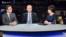 Գևորգ Գորգիսյանը և Գագիկ Մինասյանը «Ազատության» տաղավարում, 3-և նոյեմբերի, 2016թ․